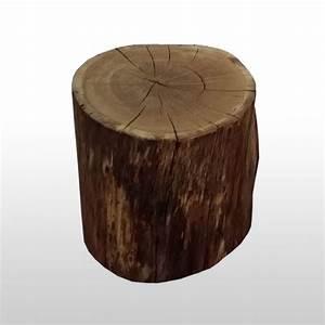 Baumstamm Kaufen Baumarkt : baumstamm hocker holzklotz aus eiche als runder sitzhocker aus einem st ck ~ Watch28wear.com Haus und Dekorationen