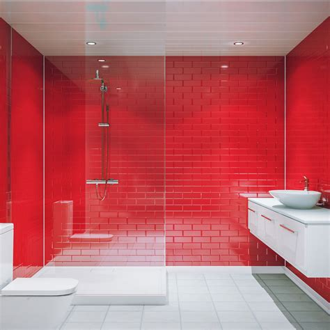 multipanel red vertical brick tile mm  mm