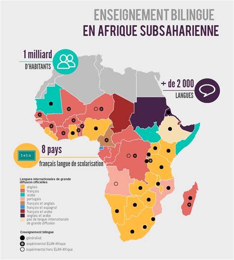Carte Du Monde Afrique Subsaharienne by L Enseignement Bilingue En Afrique Subsaharienne