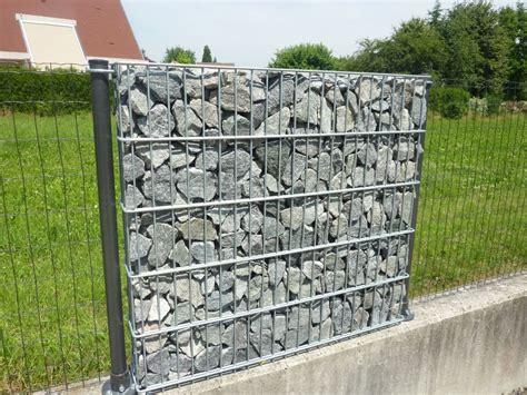 clotures mur en gabion portails automatiques  clotures