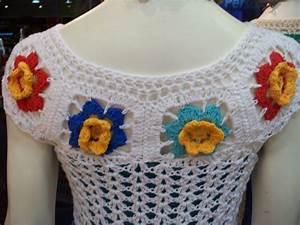 Crochet En S : tejemos con mariela remeras en crochet a todo color ~ Nature-et-papiers.com Idées de Décoration