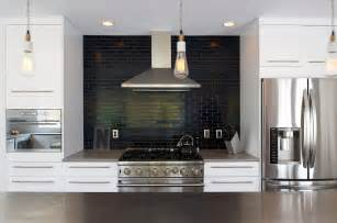 Contemporary Black Bookcase by Subway Tile Backsplash Ideas Kitchen Traditional With Azul