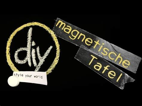 Magnetwand Selber Machen Mit Magnetfarbe by Magnettafel Selber Machen Magnetfarbe Do It Yourself