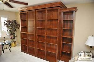 Bookcases Ideas Bookcase Murphy Wall Bed Wilding Wallbeds