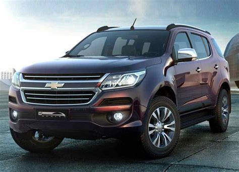 Review Chevrolet Trailblazer by New 2018 2019 Chevrolet Trailblazer Restyled Cars News
