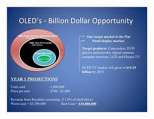 Oled U2019s  U2010 Billion Dollar Opportunity Tam  En Re Consumer