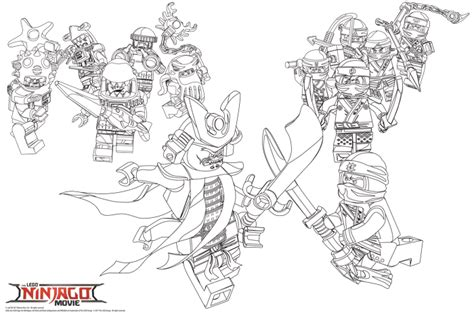Ninjago Coloring Pages & Lego Giveaway