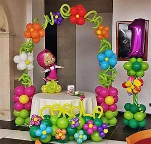 Decoración Masha y el Oso Organiza tu fiesta