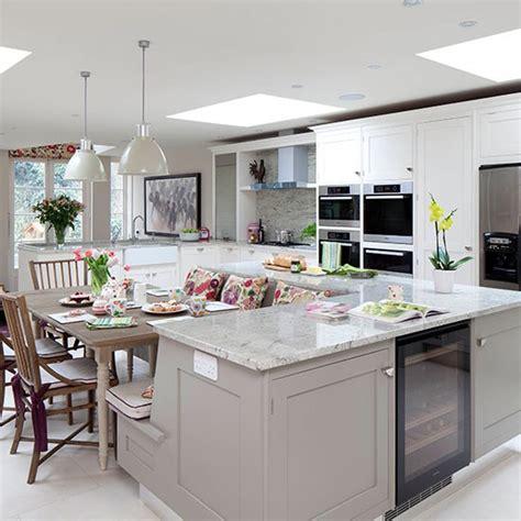 kitchen unit ideas pale grey kitchen with island unit kitchen decorating housetohome co uk