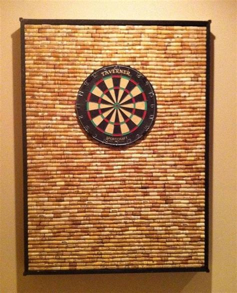 dart board cabinet ideas how to protect your wall from stray darts with this diy