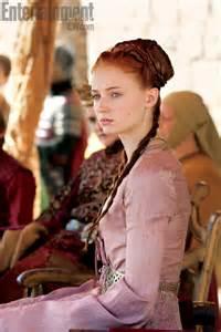 Game of Thrones Sansa Stark Hair