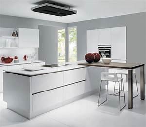 Vente Ilot Central Cuisine : ilot central avec coin repas maison design ~ Premium-room.com Idées de Décoration