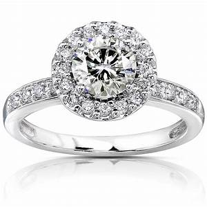 Gorgeous white gold engagement ring ideas trends for for White diamond wedding ring