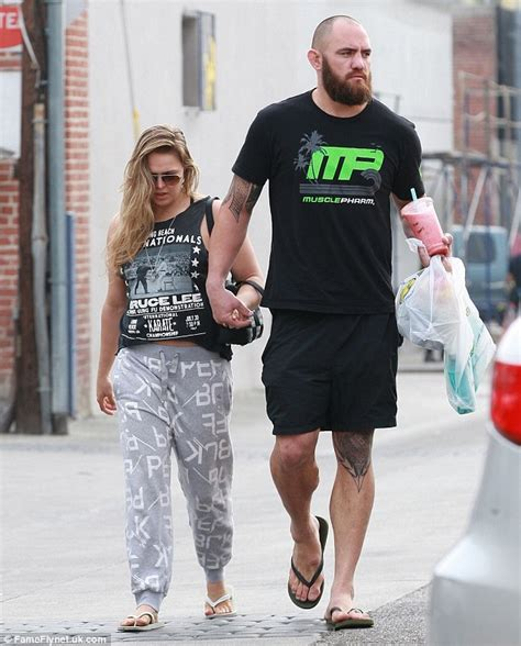 Ronda Rousey Boyfriend Suzuki ronda rousey enjoys downtime with ufc fighter boyfriend