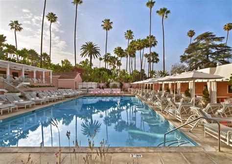 the beverly hills hotel los angeles luxury hotel on