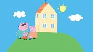 Peppa Pig Home HD Wallpaper