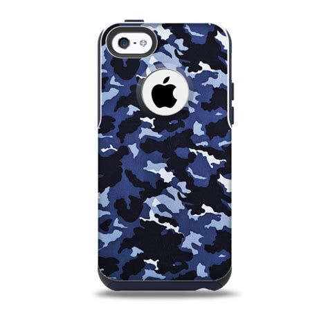 iphone 5c camo otterbox cases the blue vector camo skin for the iphone 5c otterbox
