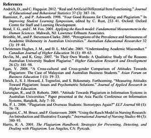 Bibliography Or Reference List