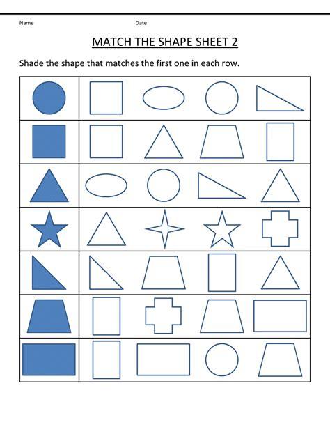worksheet for nursery class learning printable
