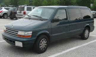 1988 Plymouth Voyager - Information and photos - MOMENTcar