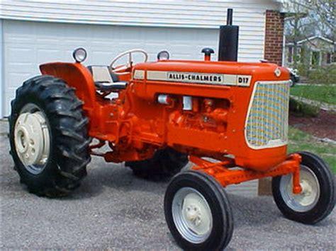 1964 allis chalmers d17 series iii restored tractorshed