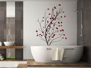 Baum Mit Roten Blättern : wandlungsf higes wandtattoo baum im wind einfach selbst gestalten ~ Eleganceandgraceweddings.com Haus und Dekorationen