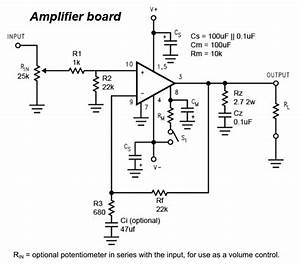 Diy Lm3886 Chip Amplifier  Gainclone  Kit   Details And