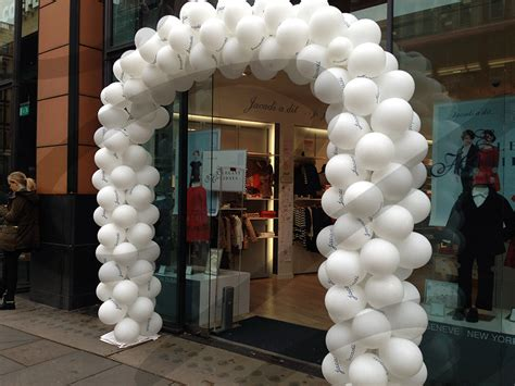 triple row balloon arch hire  lets party