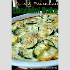 Feta & Parmesan Zucchini Bake  Main Dishes, Zucchini And