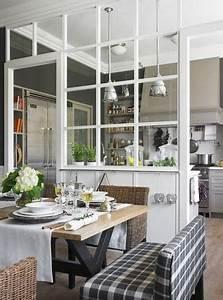 la verriere interieure se fait deco dans la cuisine With maison sans mur porteur 6 verriare atelier une solution pour amenager lespace