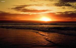 Beach Weddings At Sunset Desktop Wallpaper | I HD Images
