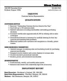 General Objective For Resume Internship by Sle General Objective For Resume 7 Exles In Pdf