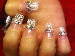 Top most attractive rhinestone nail art designs beststylo