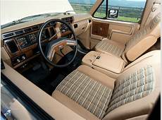 Interior 1982–86 Ford Bronco XLT