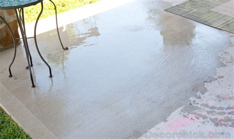 how to clean your patio the and easy way decorchick