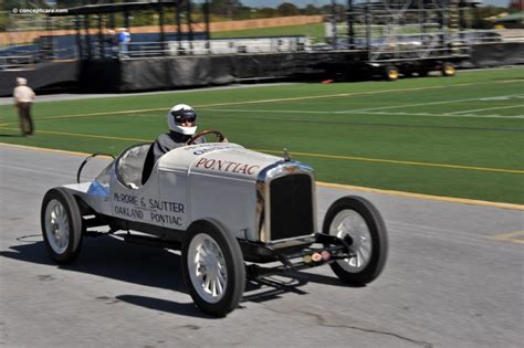 Boat Car Race by 1926 Pontiac Boat Racer Chassis Information