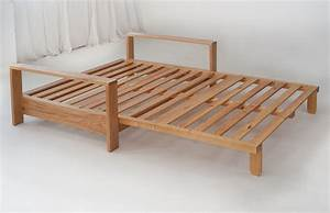 Panama futon sofa bed natural bed company for Sofa bed extension