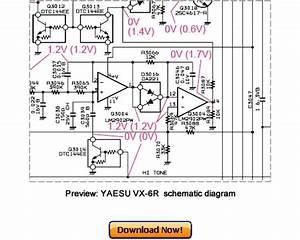 Vertex Yaesu Vx-6r Service Repair Manual Download