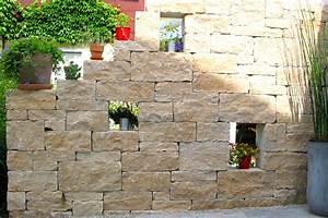 Steine Mauer Garten : mediterrane gartenmauer garten und landschaftsbau schinner ~ Watch28wear.com Haus und Dekorationen