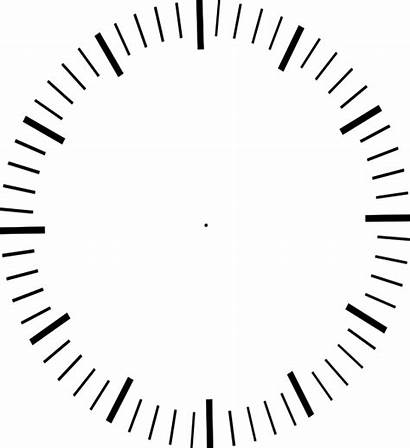 Clock Hands Ticks Minute Without Analog Clipart