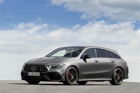 That doesn't stop us from desperately wanting one of these slick wagons, though. Mercedes-AMG CLA 45 4MATIC+ Shooting Brake specs & photos - 2019, 2020 - autoevolution