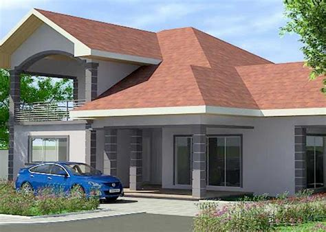 4 Beds, 4 Baths House Plan For