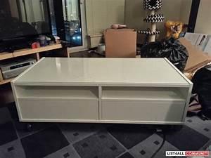 Ikea boksel multi storage white coffee table with casters for White coffee table with wheels