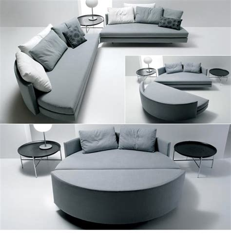 canapé lit rond canapé