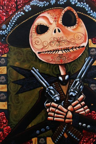 jack skellington bandito jack mike bell nightmare