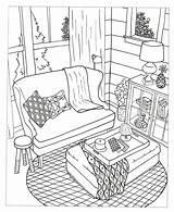 Coloring Coloriage Coloriages Creative Decorate Adult Chouette Dream Spaces Colouring Inspired Colorier Dessin Imprimer Rooms Desenhos Colorir Adulte Livres Printable sketch template