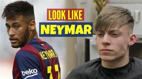 neymar  hairstyle haircut tutorial  mens hair