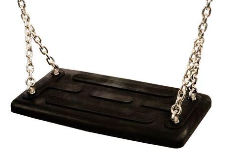 siege de balancoire siège de balançoire standard noir avec chaines pièces