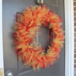 sunflower mesh wreath cornwell designs tuesday tutorial tulle autumn wreath