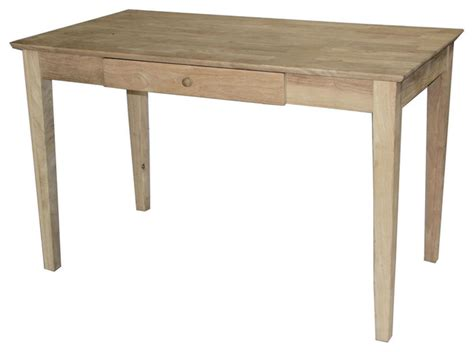 solid wood writing desk with drawers unfinished solid wood desk laptop computer writing table